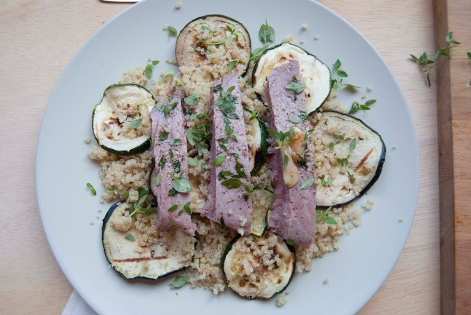 the food boy quinoa tuna_10