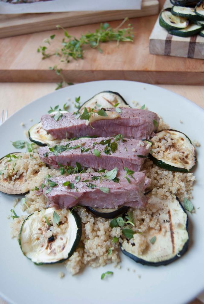 the food boy quinoa tuna_9