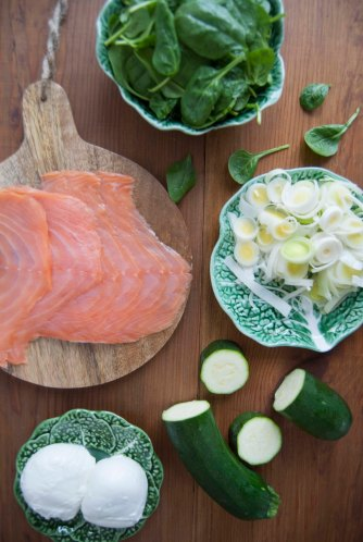 the food boy salmon lasagne