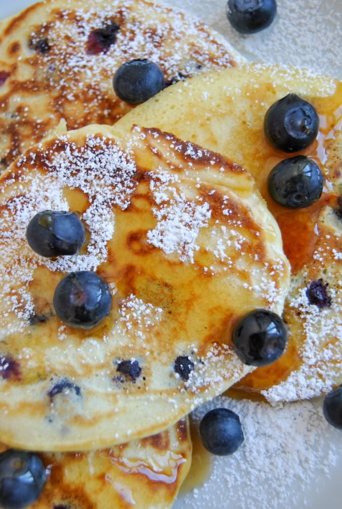 blueberry pancakes the food boy10