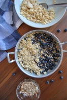 blueberry crumble the food boy 3
