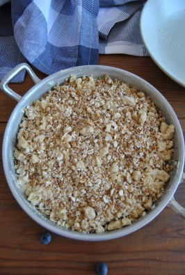 blueberry crumble the food boy 5