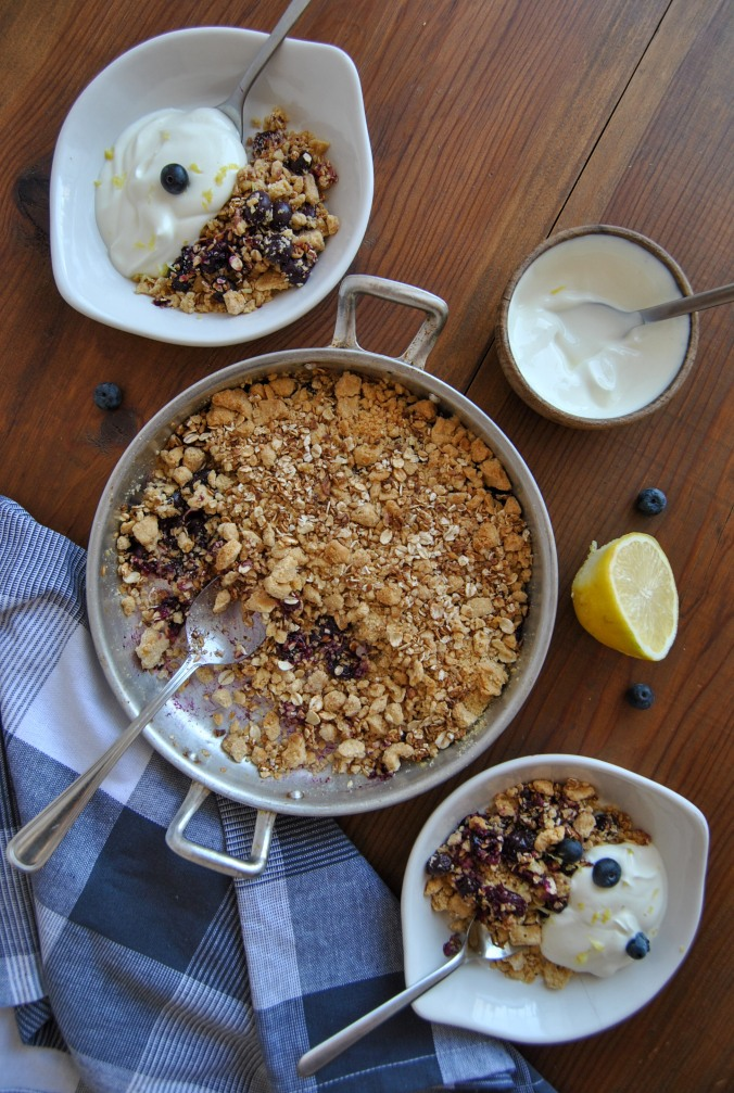 blueberry crumble the food boy 8