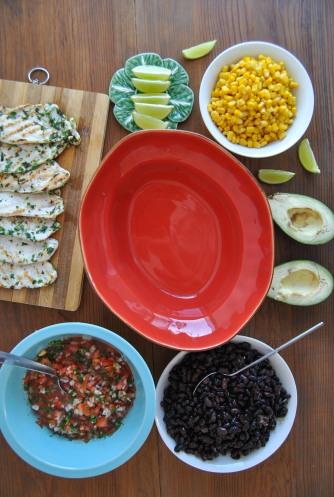 mexican saladthe food boy5