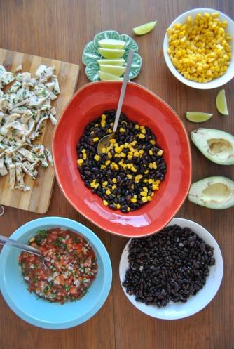 mexican saladthe food boy6