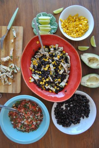 mexican saladthe food boy7