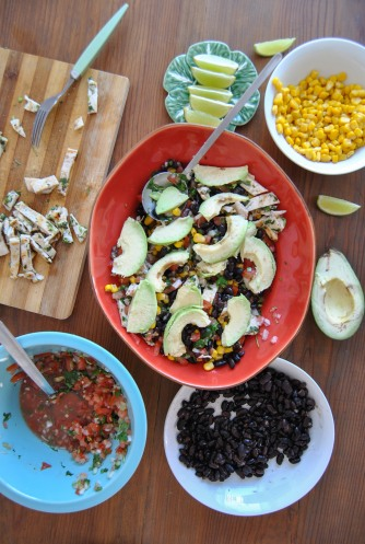 mexican saladthe food boy8