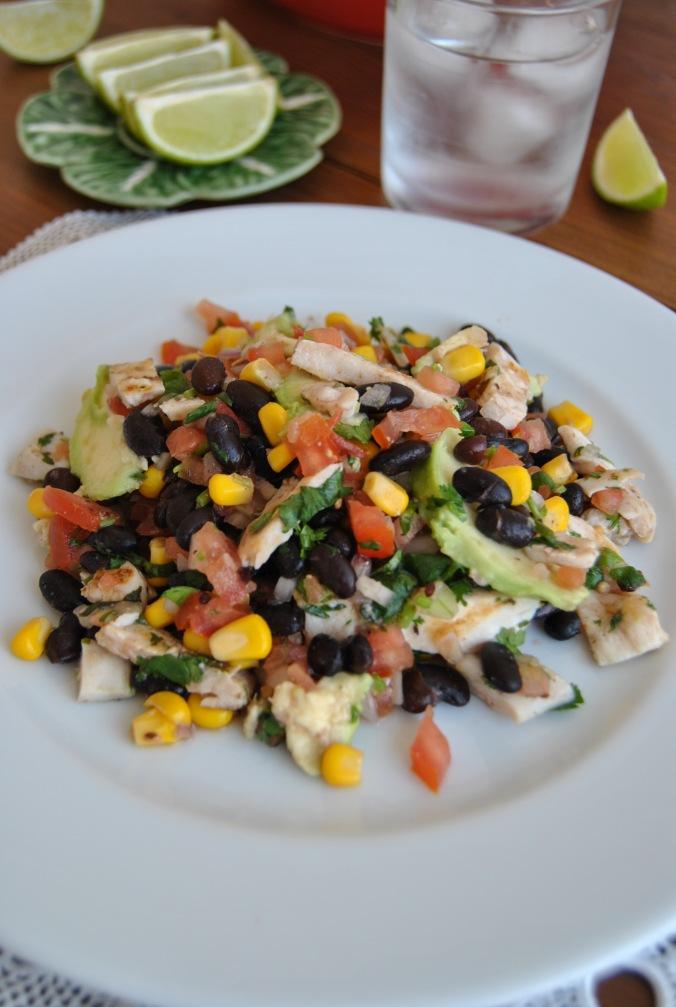 mexican saladthe food boy9